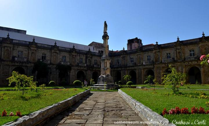 Mosteiro de Santa Clara-a-Nova, Coimbra, Portugal.