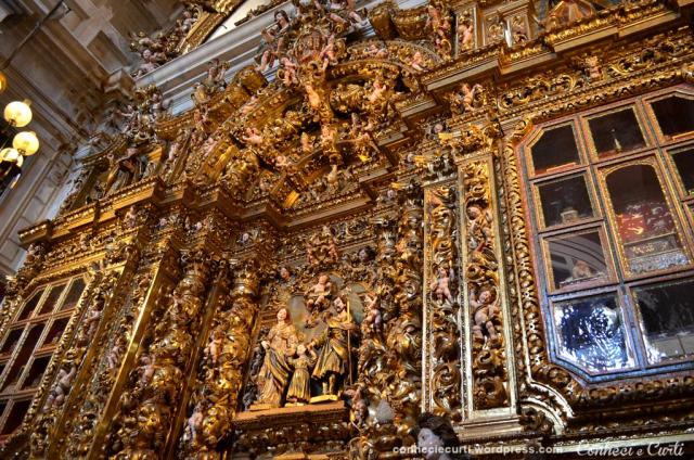 Interior da Sé Nova de Coimbra, Portugal.