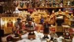 Bonecos na Feira de Natal de Bremen