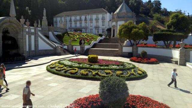 Jardins do Santuário do Bom Jesus do Monte em Braga, Portugal