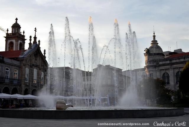 Braga, Chafariz da Praça da República.
