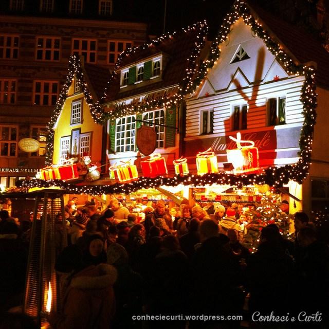 Feira de Natal em Bremen