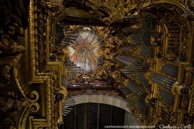 O órgão da Sé de Braga, Portugal.