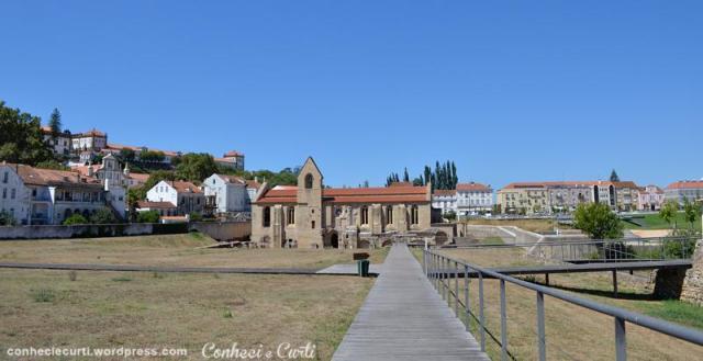 Mosteiro de Santa Clara-a-Velha, Paço da Rainha. Coimbra, Portugal.