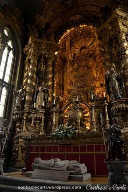 Túmulo de D. Constança de Noronha, 1ª Duquesa de Bragança. Guimarães, Portugal