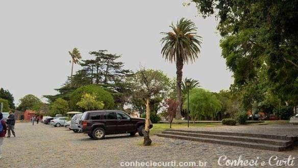 Plaza Mayor em Colonia del Sacramento.