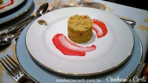 Ceviche de salmón rosado - Café de los Angelitos