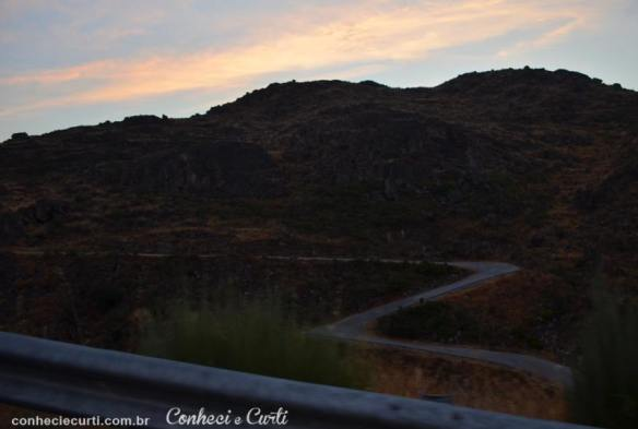 Estrada de Marialva para Castelo Rodrigo.