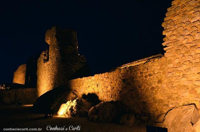 Castelo Rodrigo, a muralha do Castelo.