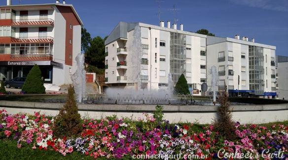 Parte moderna da cidade de Guarda.
