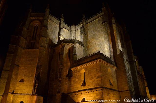 Sé da cidade de Guarda, Portugal.