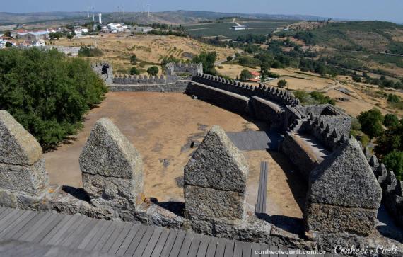 A aldeia histórica de Trancoso e muitas emoções nesse dia