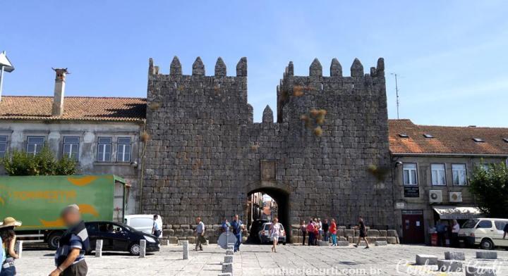 A Porta del Rei, em Trancoso, Portugal.
