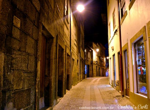 Rua do Centro Histórico, Guarda - Portugal.