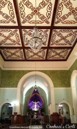 Interior da Igreja Matriz, N. Sra dos Remédios. Caxambu