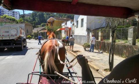 Caxambu - MG, nosso passeio de charrete.