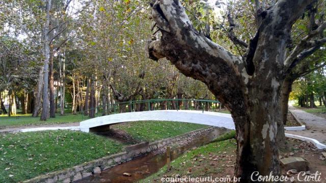 O Parque das Águas de Caxambu.