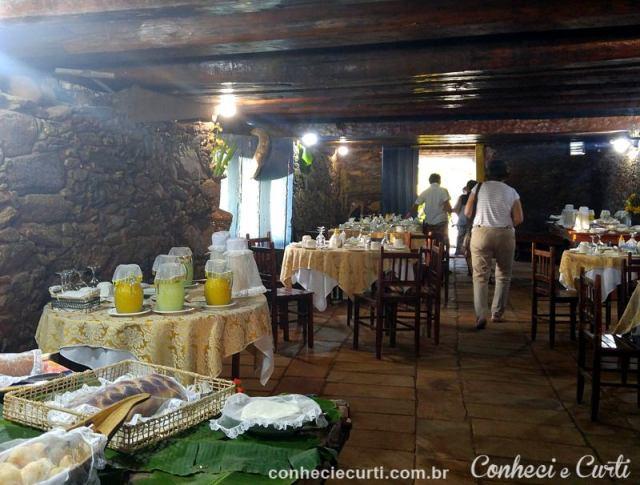 Local onde é servido o café colonial