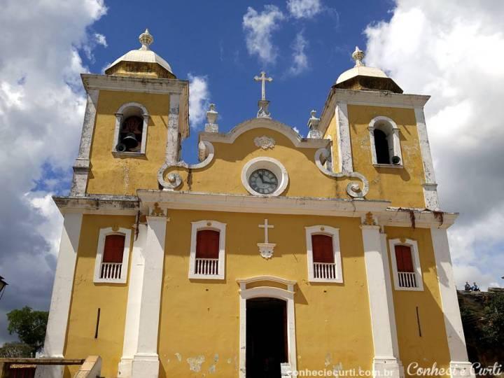A Igreja Matriz de São Tomé das Letras, MG.