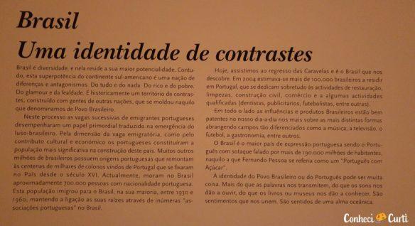 O Brasil, sob a ótica do Museu dos Descobrimentos. Belmonte - Portugal.
