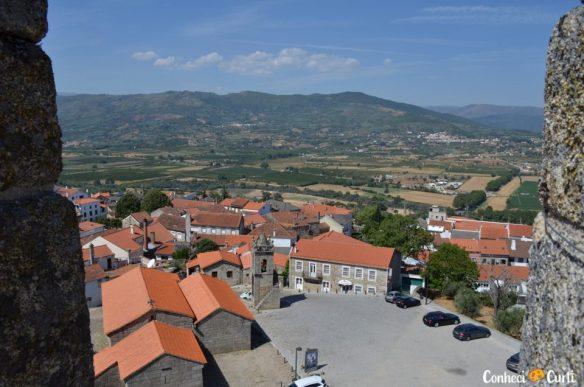 Belmonte - Portugal. Vista do Castelo
