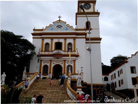 A Igreja Matriz de São Lourenço, MG.