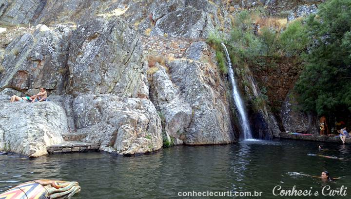 As piscinas naturais de Penha Garcia