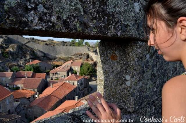 A Vila de Sortelha vista do Castelo