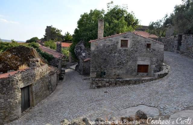 Vila de Sortelha, Portugal. Aldeia intramuros