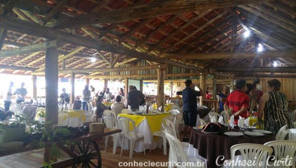 1º dia do 11º Encontro da Família Chueire em Tomazina