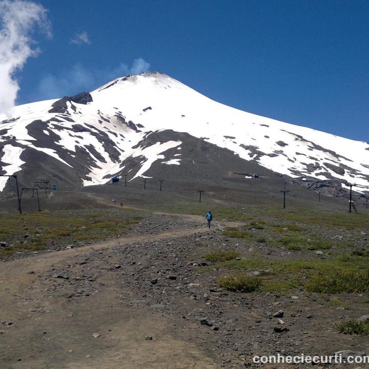 Vulcão Villarrica, Pucón - Chile.