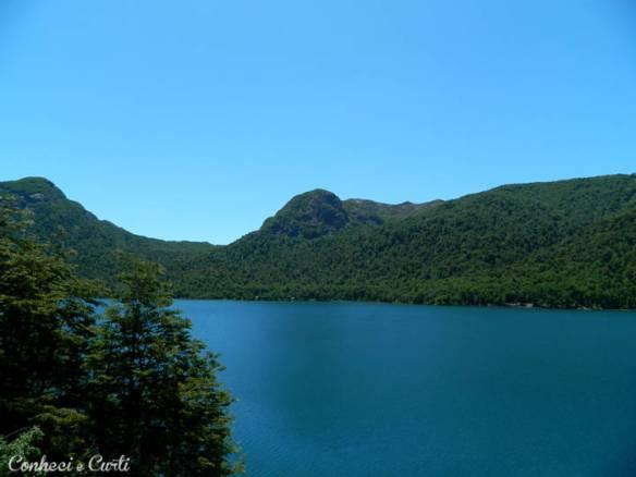 Lago Quilleihue, Chile.
