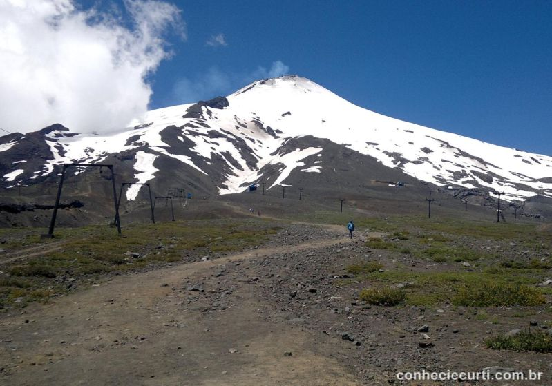Vulcão Villarrica, Pucón, Chile
