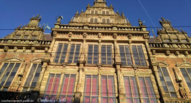Edifício da Prefeitura de Bremen (Rathaus).
