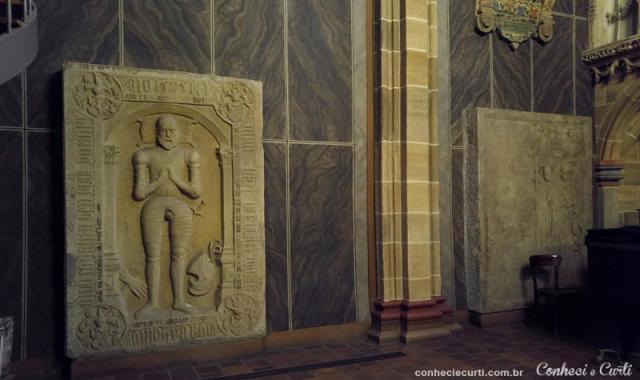Interior da Catedral de São Pedro de Bremen, Alemanha.