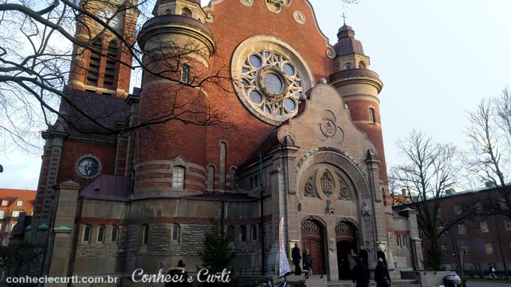 Igreja de São João -S:t Johannes kyrka em Malmö, Suécia