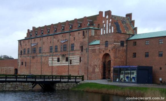O castelo de Malmö.