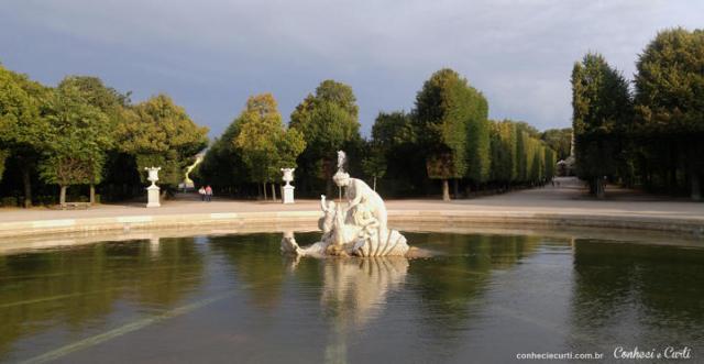 Fonte do Palácio de Shönbrunn.