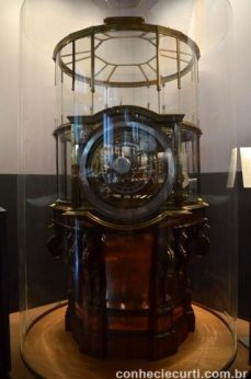 A máquina de Copérnico. Museu de História Natural de Viena