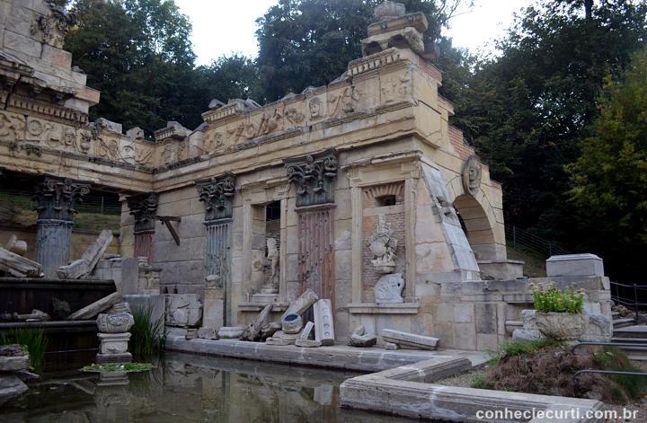 Ruínas Romanas do Palácio Shcönbrunn.