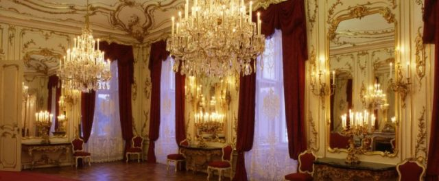 Salão dos Espelhos. Crédito: Schönbrunn site oficial.