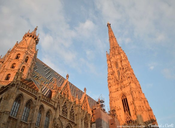 Catedral de São Estevão Viena. Conheci e Curti