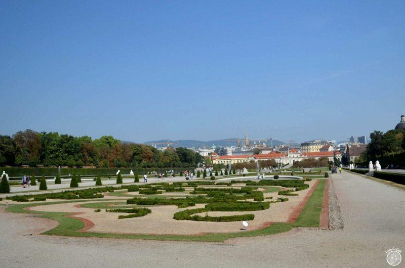 Jardins de Belvedere, Viena.