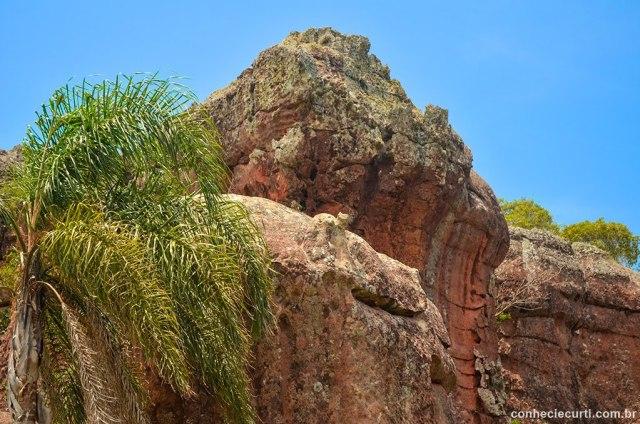 Arenitos do Parque Estadual de Vila Velha, em Ponta Grossa, PR.