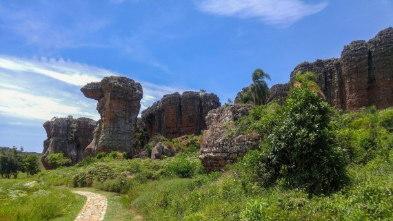 Os espetaculares arenitos do Parque Estadual de Vila Velha no Paraná