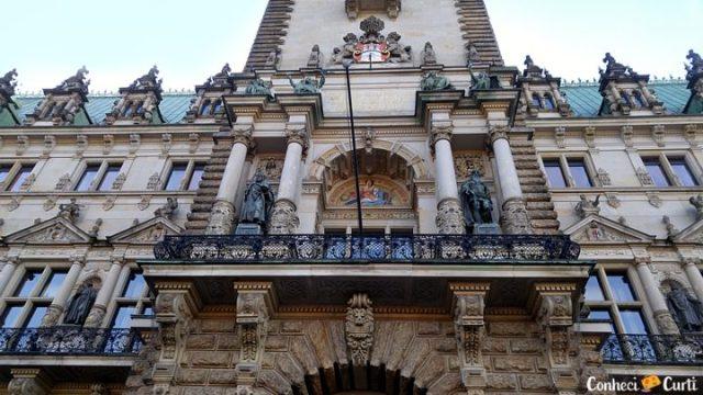 Rathaus, a Prefeitura da Hamburgo.
