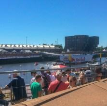 Evento do RedBull no Europahafen.