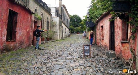 Colonia del Sacramento, Uruguai. Calle de Los Suspiros.