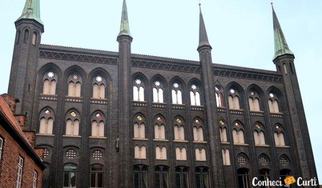 Rathaus de Lübeck, Alemanha