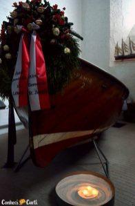 Homenagem aos marinheiros na Igreja St. Jacob. Foto Maria Eugênia
